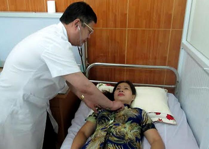 Theo dõi sức khỏe cho bệnh nhân