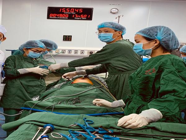 Bệnh viện 16a hà đông đẩy mạnh phát triển các kỹ thuật  ngoại khoa & sản khoa