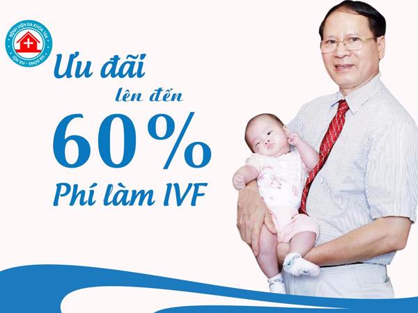 Ưu đãi làm ivf Tại trung tâm hỗ trợ sinh sản - bệnh viện đk 16a Hà Đông